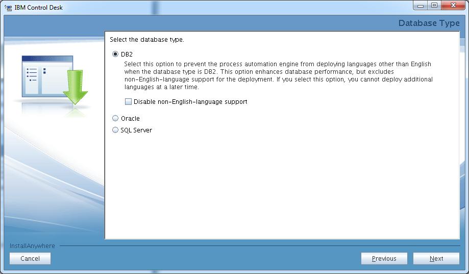 control-desk-service-provider-edition-installer-db2