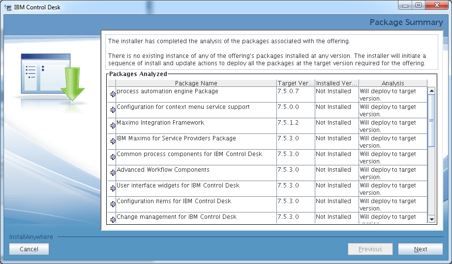 Good Control Desk Service Provider Edition Installer Package Summary Photo Gallery