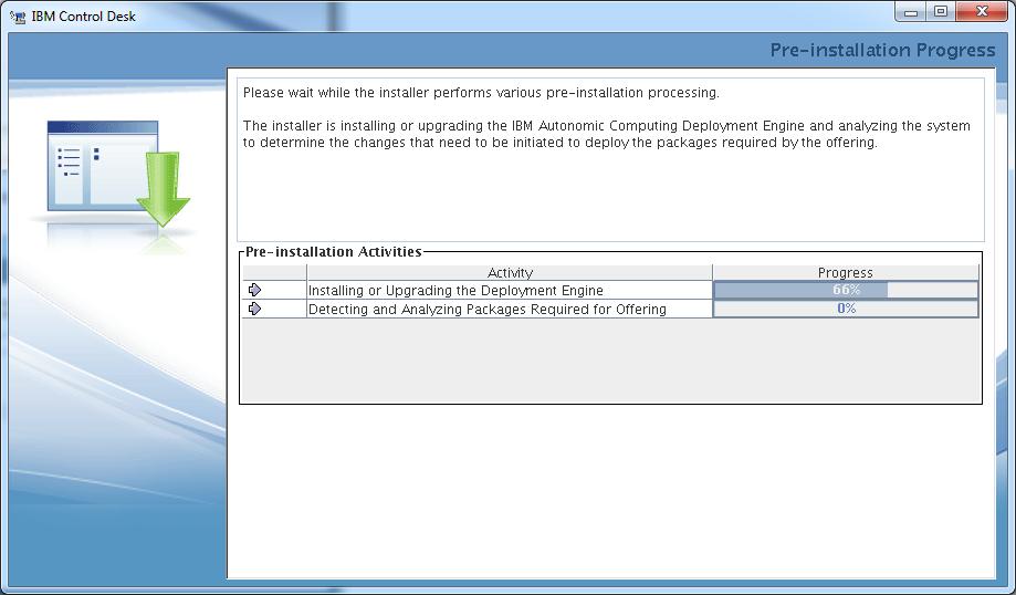 control-desk-service-provider-edition-installer-pre-installation-progress